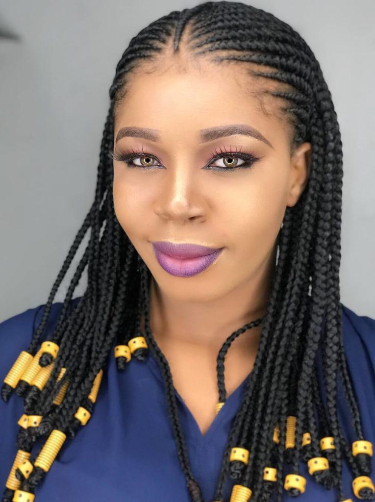 27 Glamorous Nigerian Braids Hairstyles