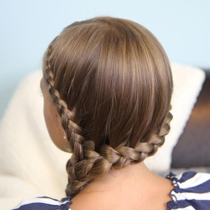 Back to School Braids for Kids