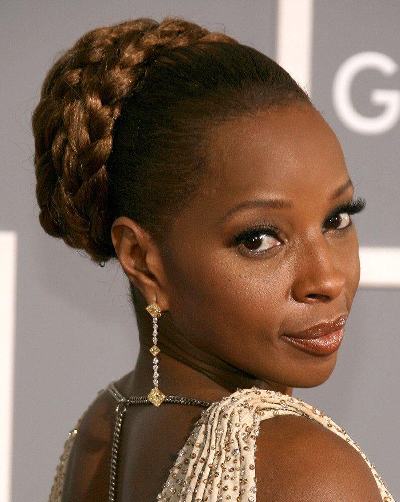 Braided Updo for Black Women