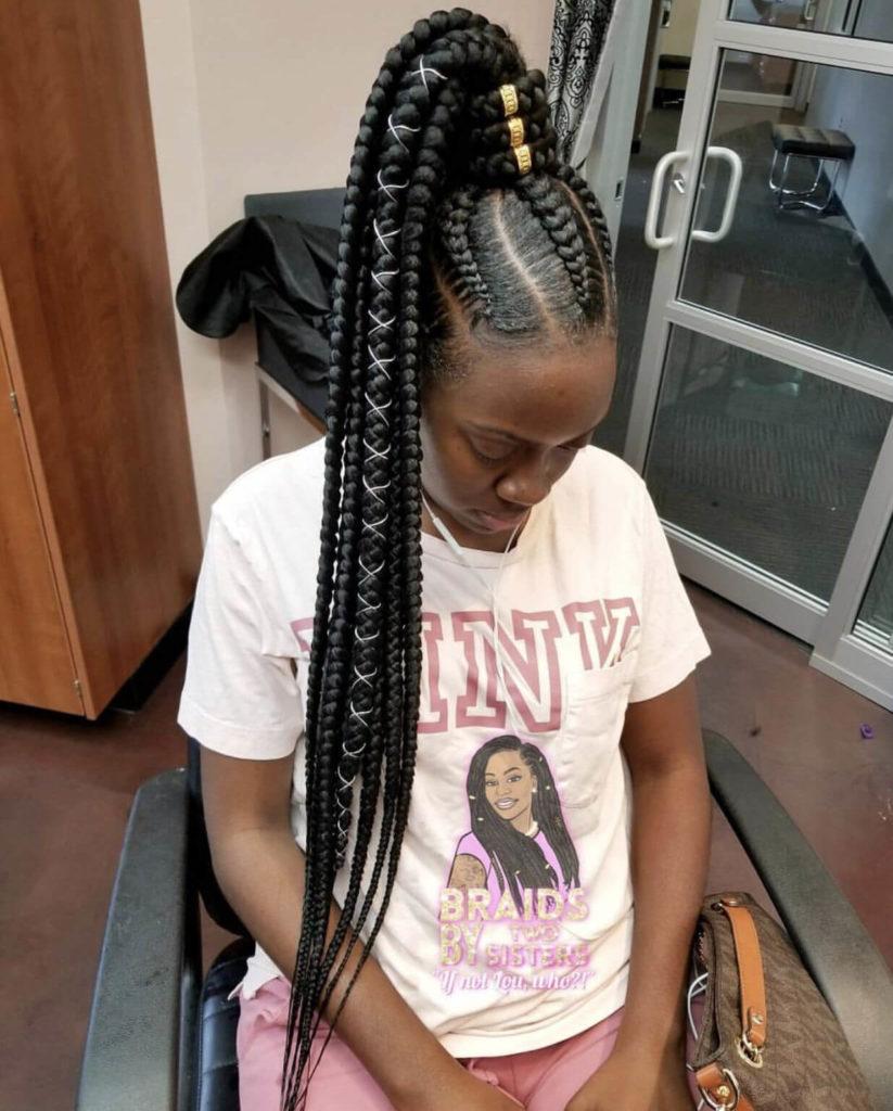 Long Ghana Braids
