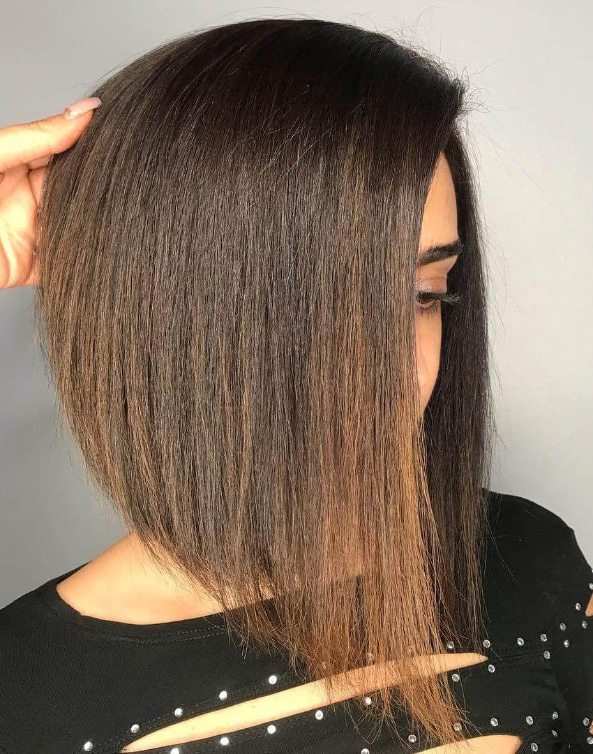A Line Bob Haircuts