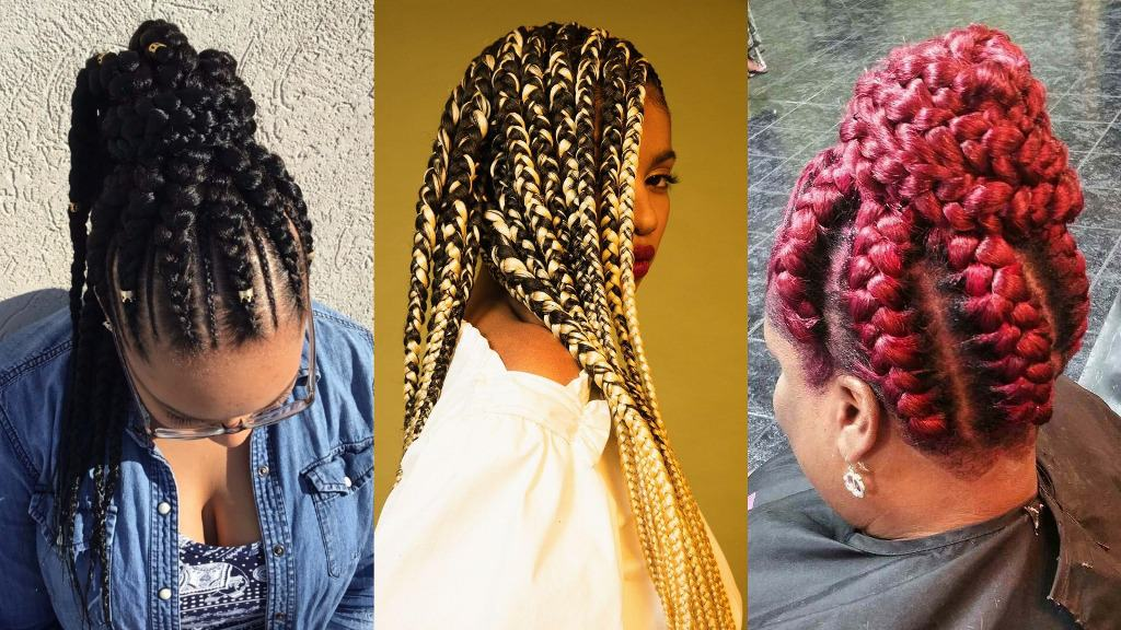 25 + Stunning Goddess Braids Hairstyles
