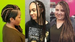 30 + Glamorous and Good Looking Single Braids Hairstyles