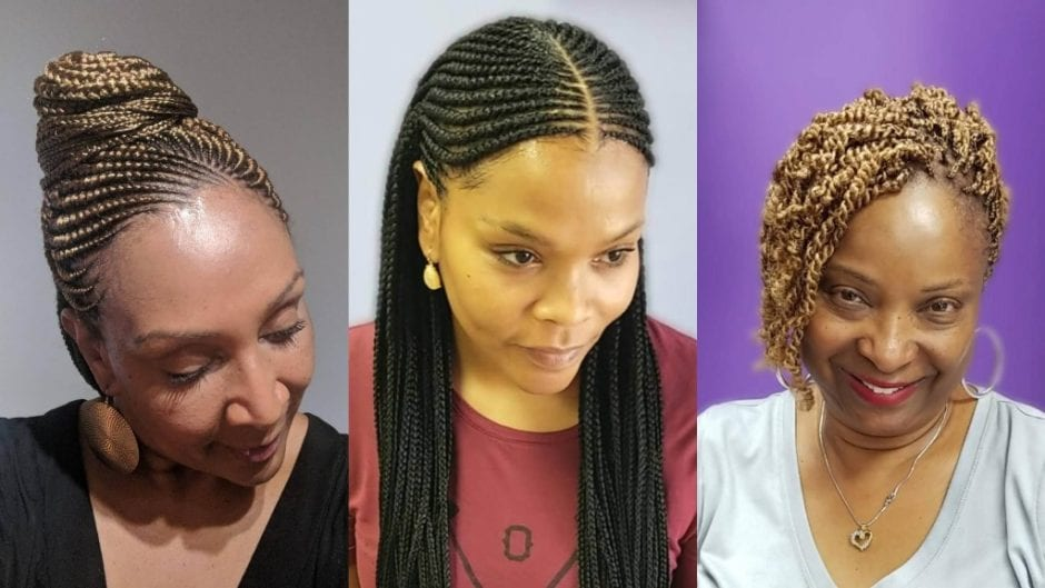 Tree Braids Hairstyles