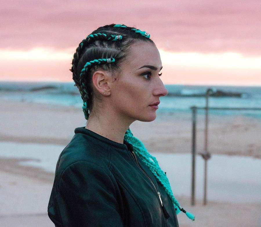 cornrow braid hairstyles for women