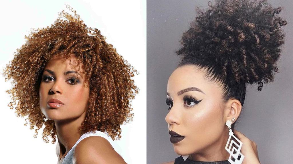 African American Curly Hairstyles