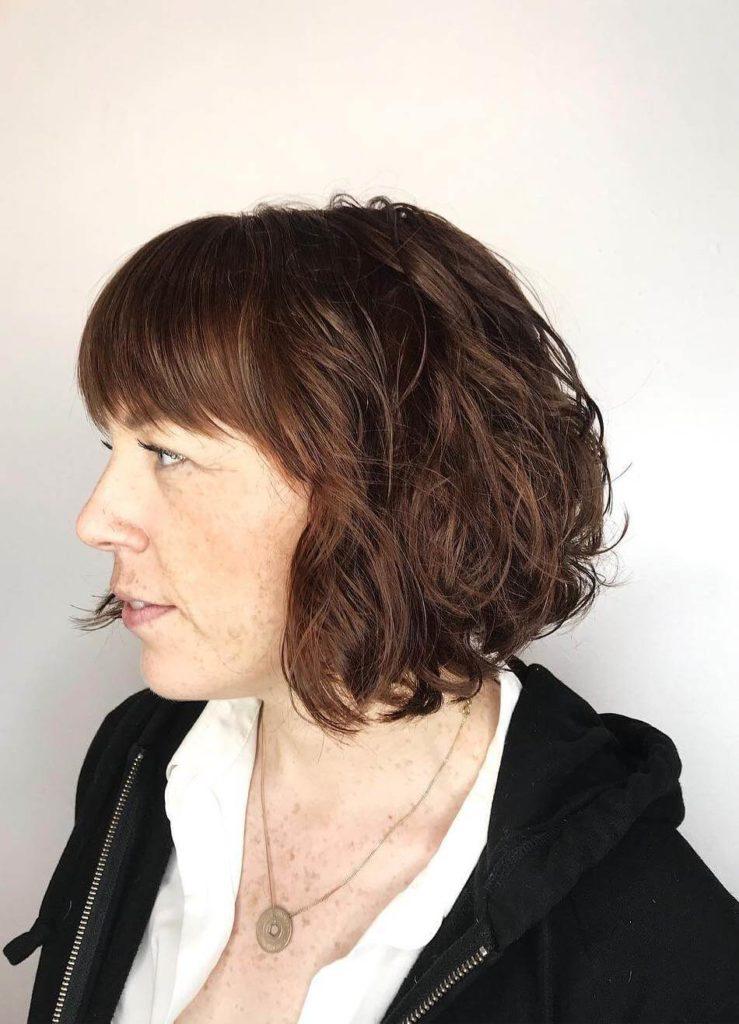 Bob Haircuts with Fringe