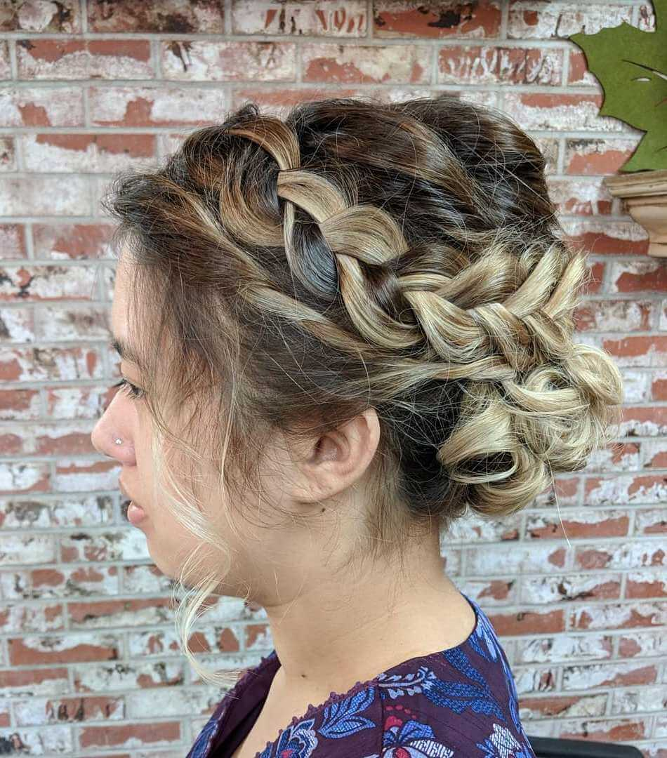 Curly Updo Hairstyles