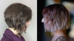25 Charming Layered Bob Haircuts and Hairstyles