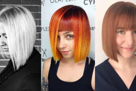 Straight Bob Haircuts