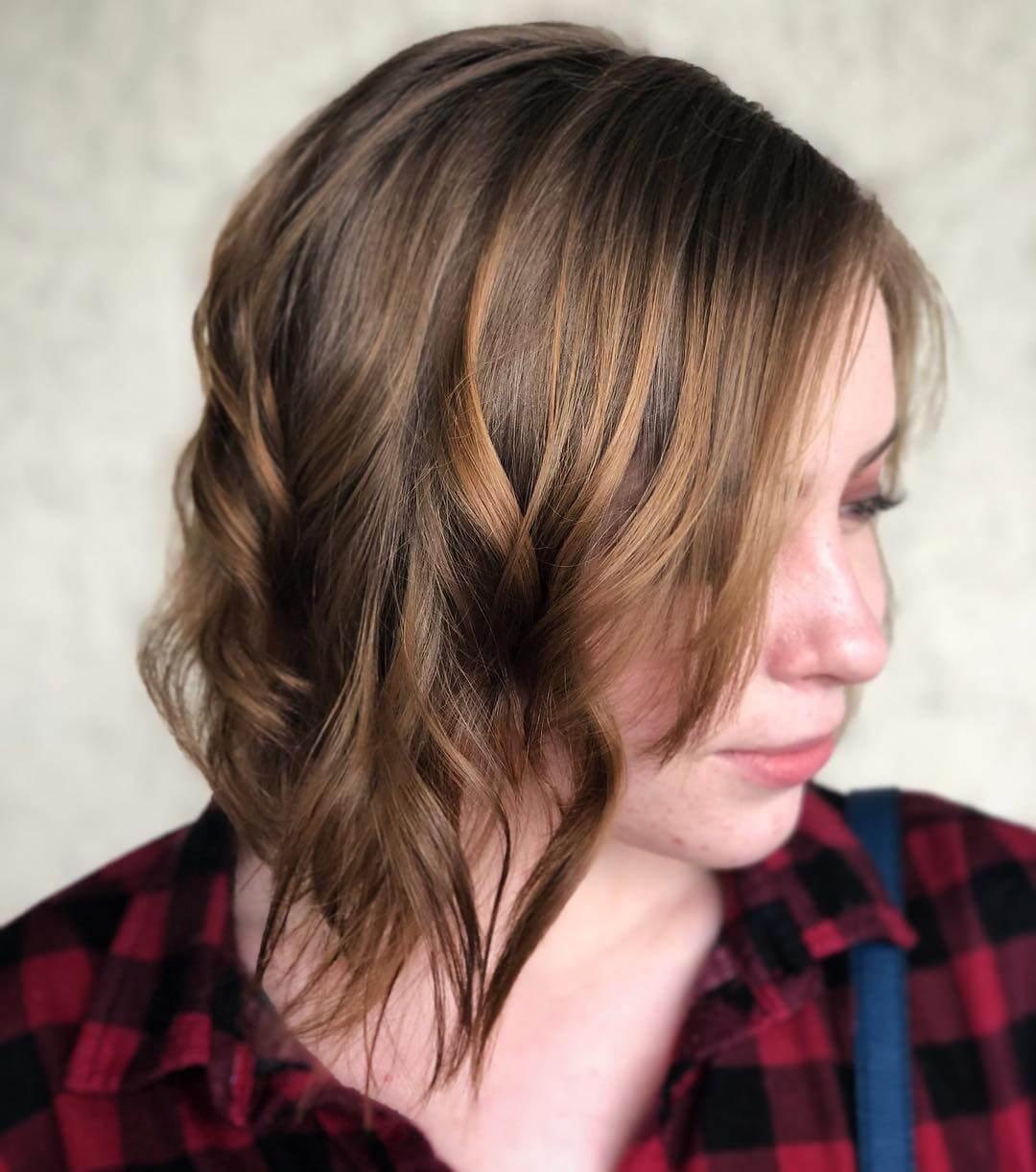 Asymmetrical Bob Haircuts