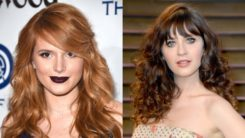 20 Stylish Curly Hairstyles With Bangs to Look Unique