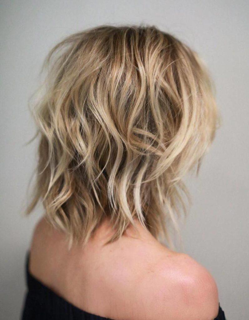 Medium Shaggy Hairstyles