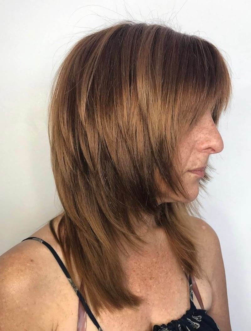 Medium Shaggy Hairstyles