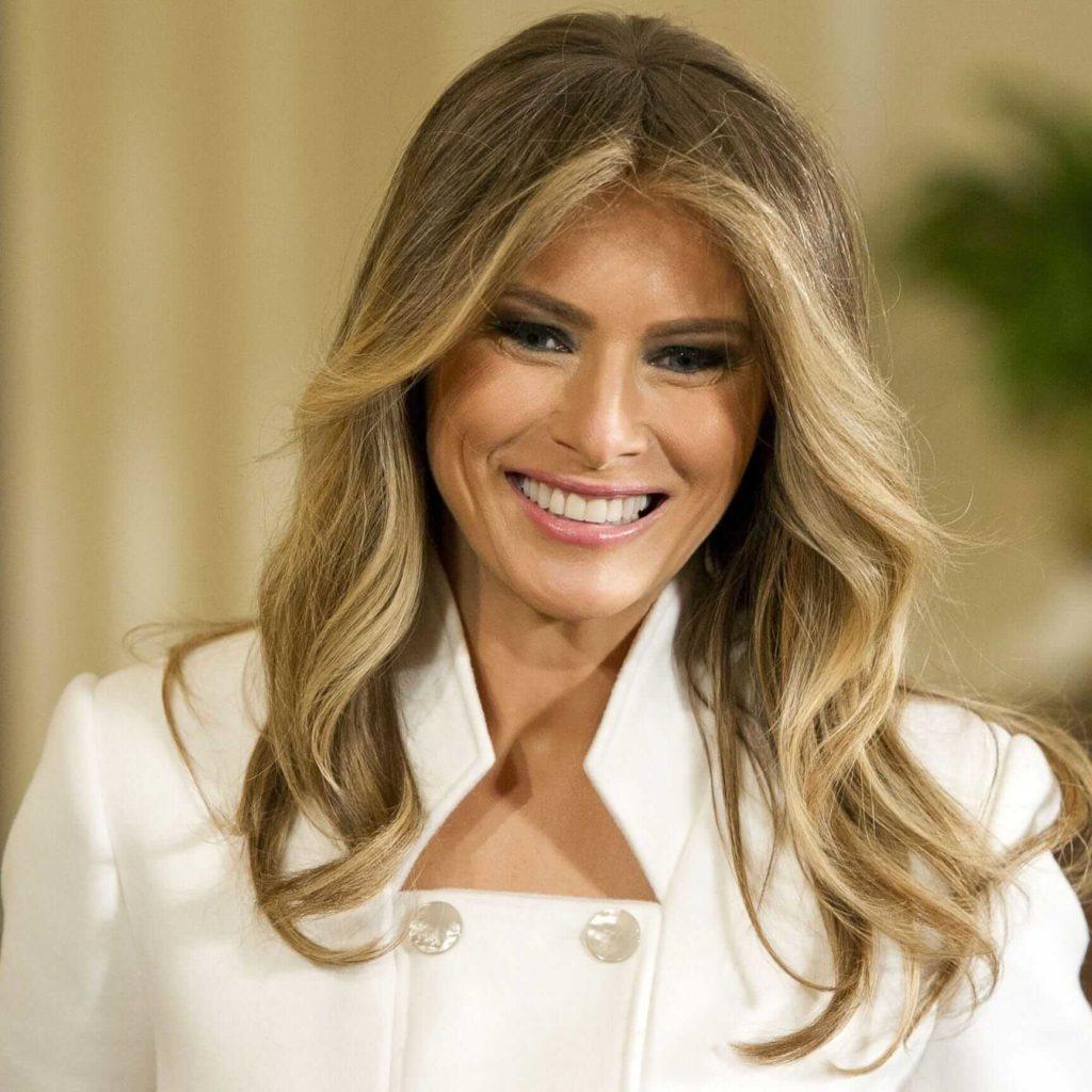 Melania Trump New Hairstyles