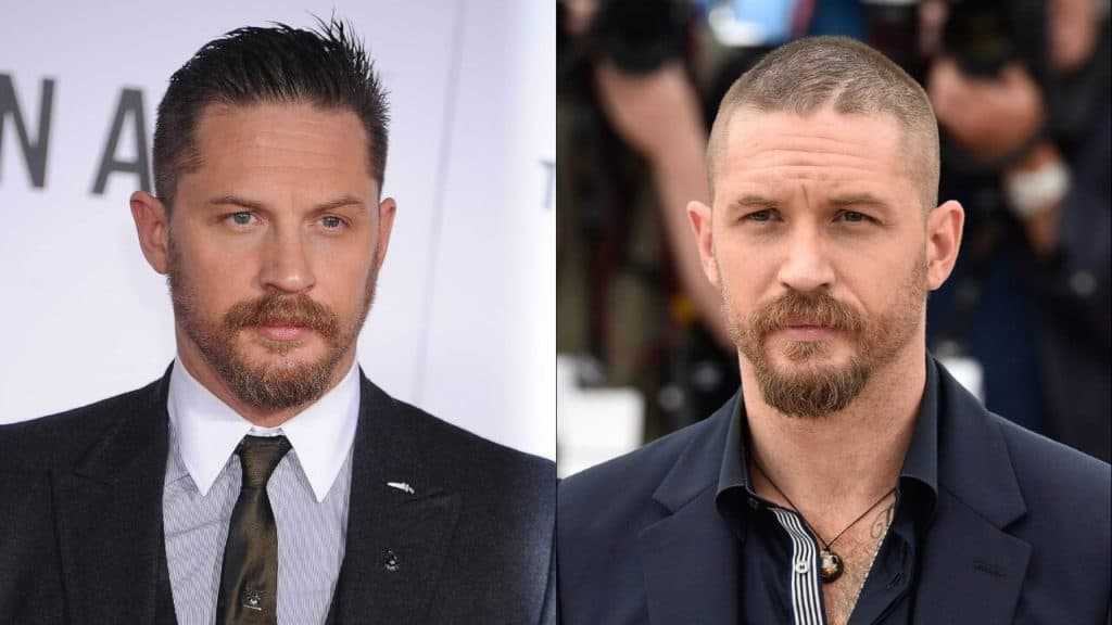 15 Most Popular Tom Hardy Hairstyles