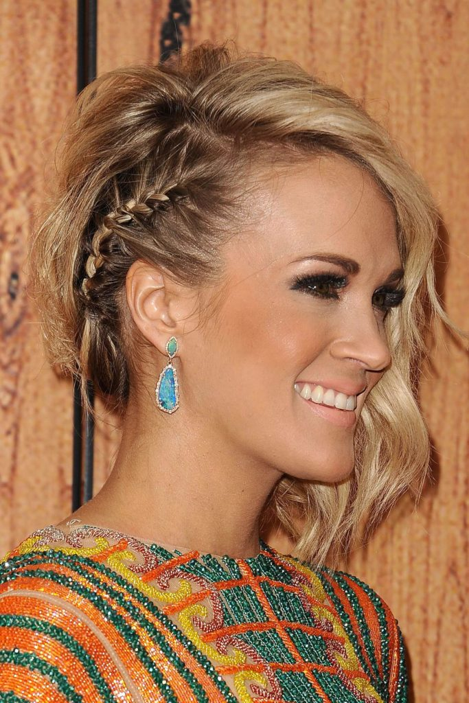 One Braid Hairstyles
