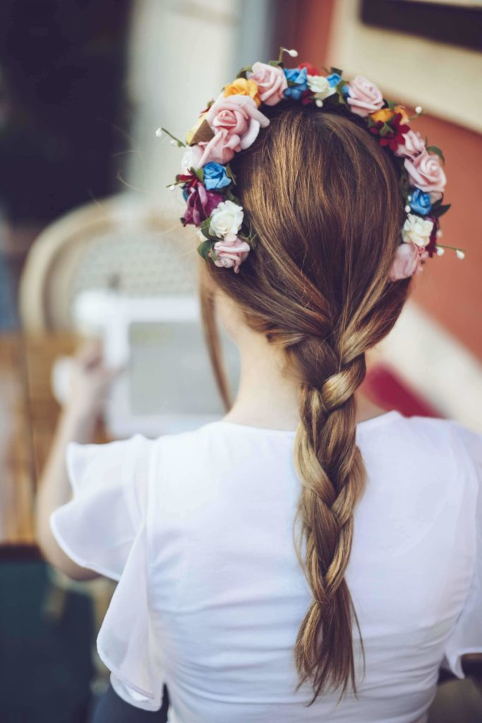 One Braid Hairstyles