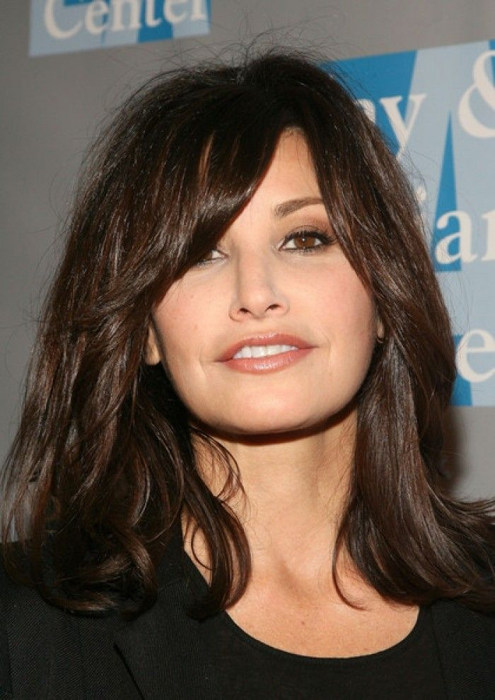 Brunette Medium Hairstyles
