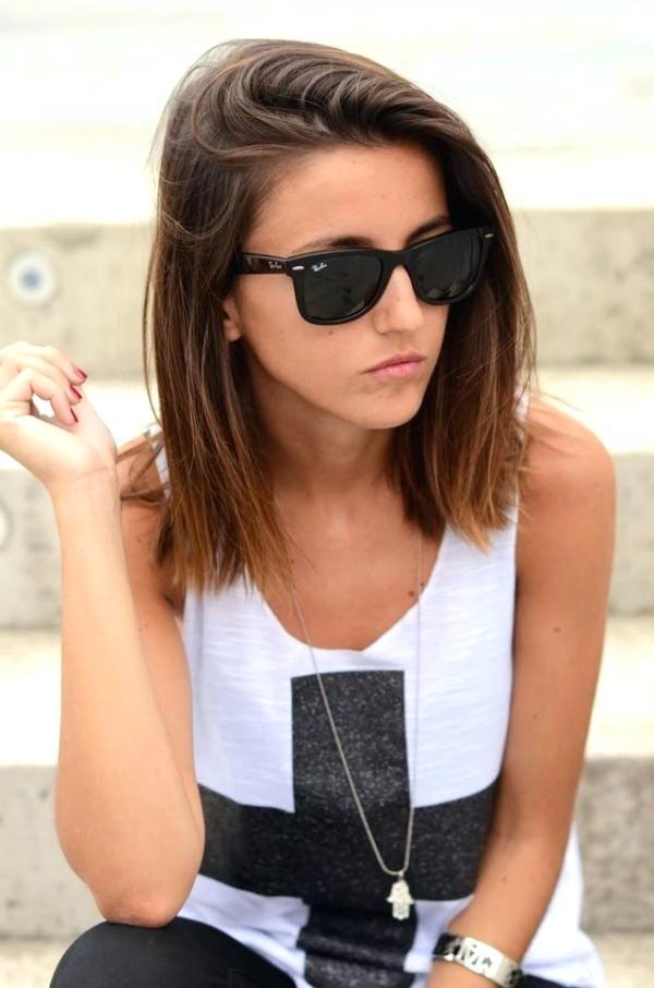 Medium Straight Hairstyles