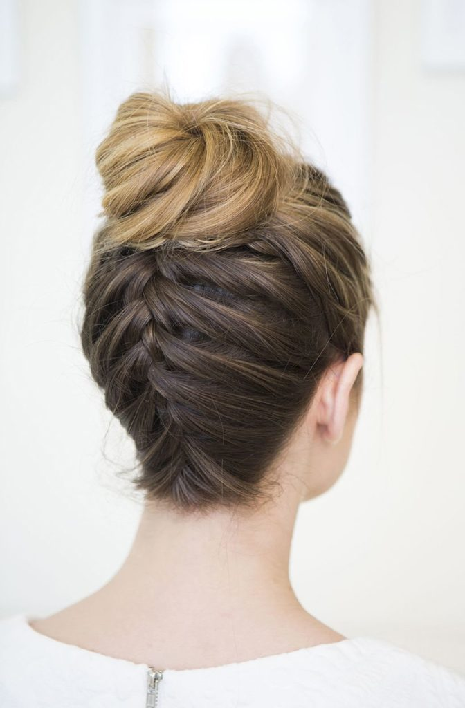 How to Create a Braided Bun