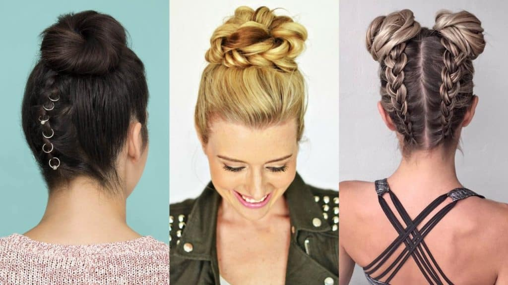5 Braided Buns – Learn How to do These Hairstyles
