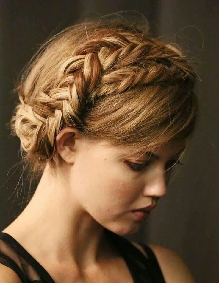 How to do Fishtail Crown Braid