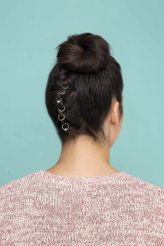 How to Create Reverse Braided Bun