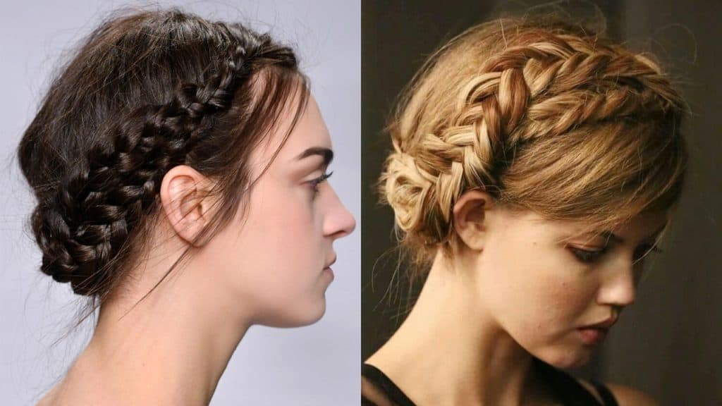Types of Crown Braids