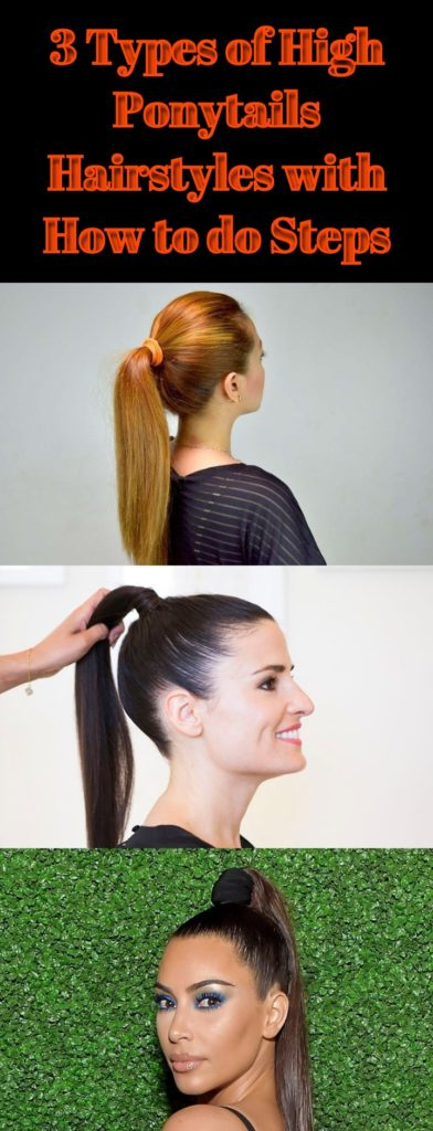 High Ponytails Hairstyles