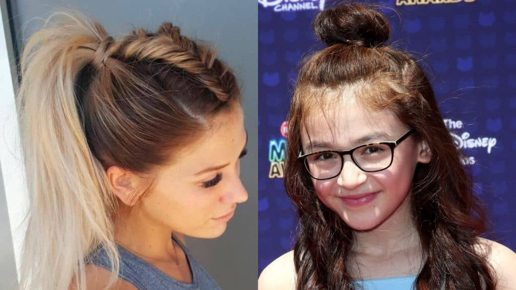11 Cute and Simple Hairstyles For School  Hairdo Hairstyle