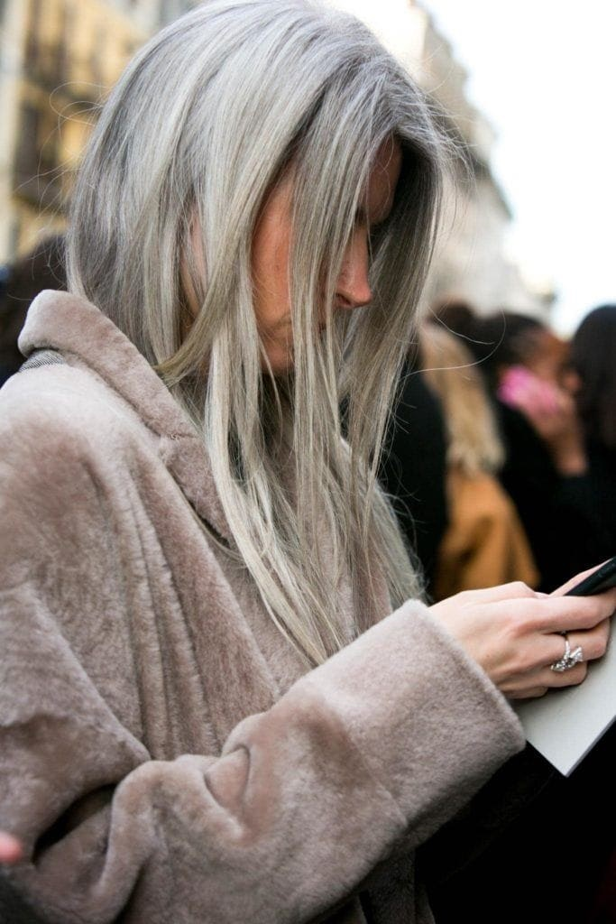 Silver Hair Color