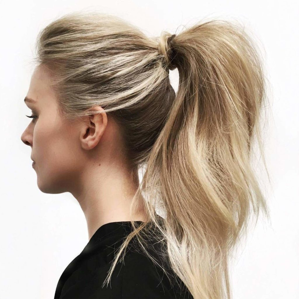 30 Stunning Wedding Hairstyles Ideas In 2019: 30 Stunning Ponytail Hairstyles For Women In 2020