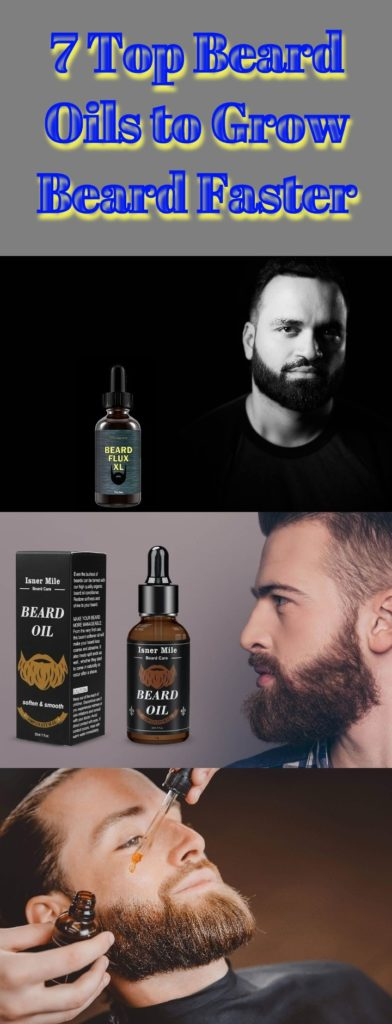 Beard Oils to Grow Beard