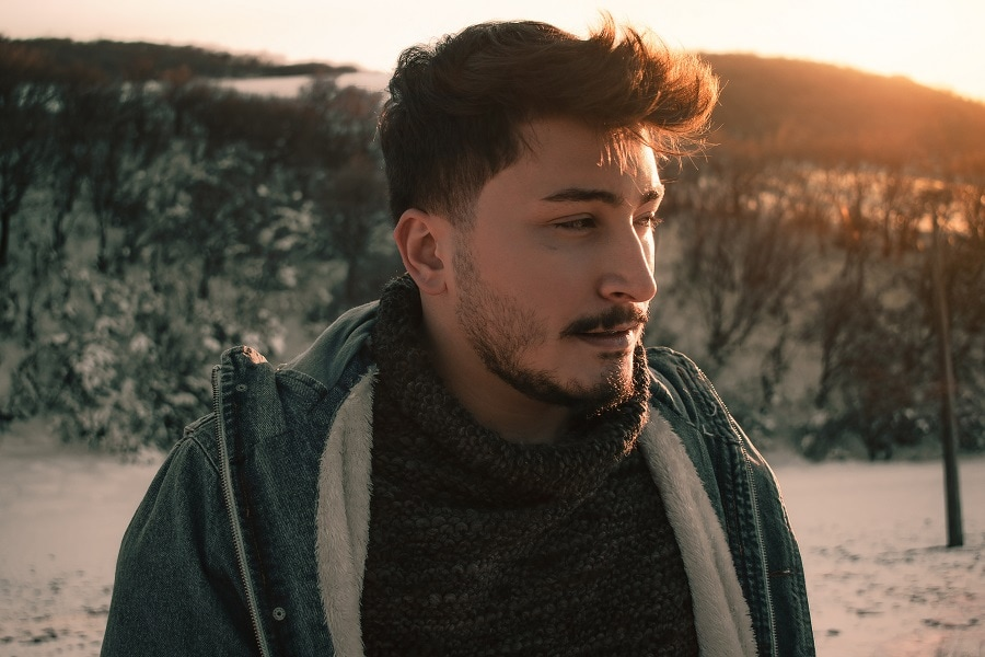 patchy beard styles for men
