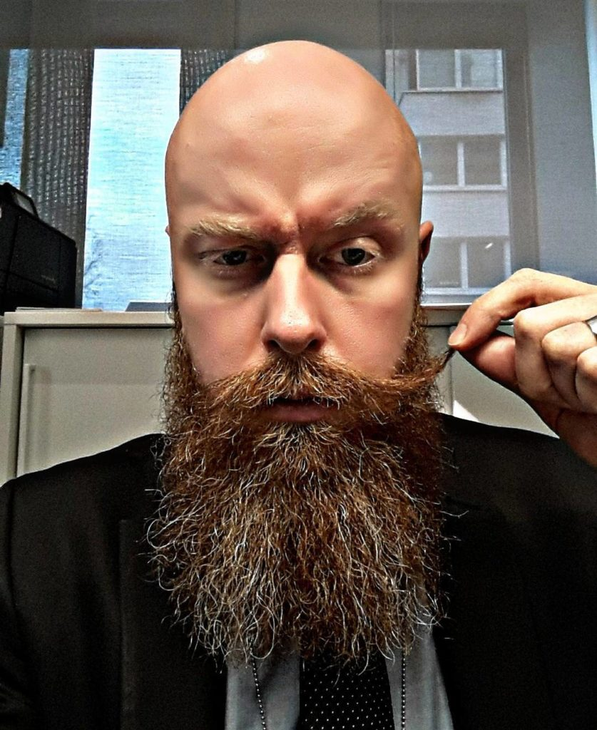 Beard Styles for Bald Guys