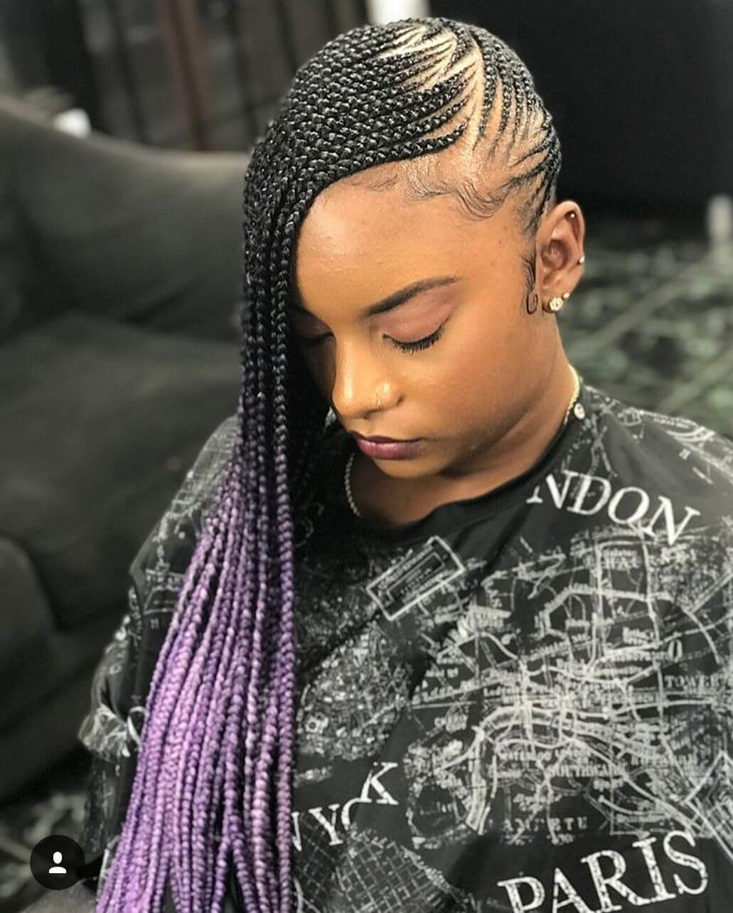 25 Lemonade Braids Hairstyles For All Ages Women Hairdo