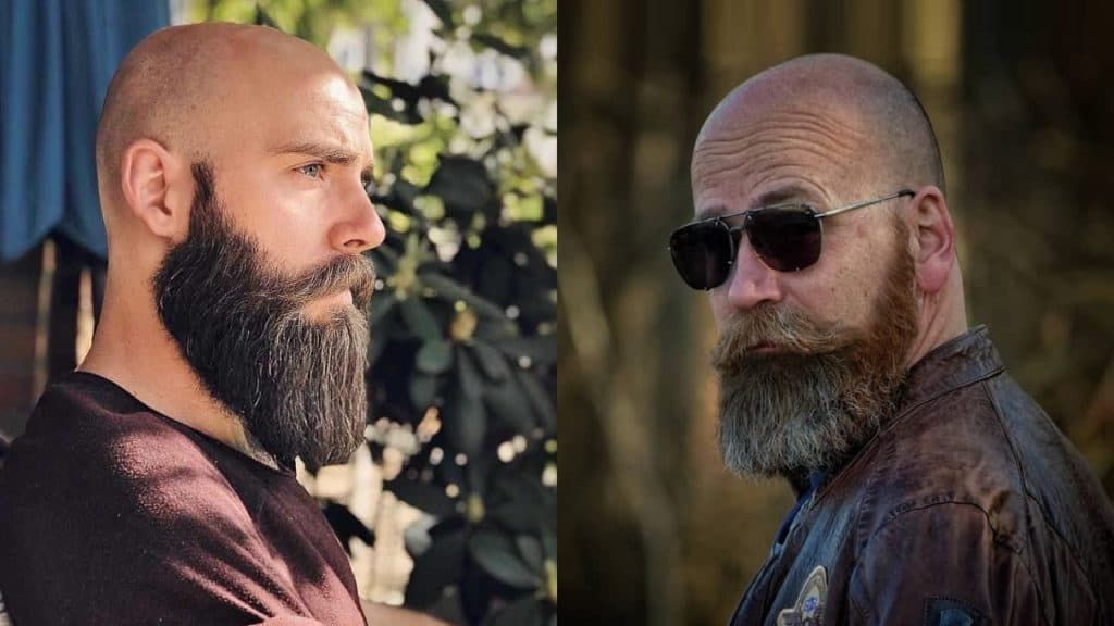 20 Beard Styles for Bald Guys to Look Stylish and Attractive