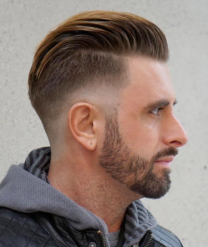 Hair Cutting Style Name - Fade
