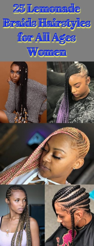 Lemonade Braids Hairstyles