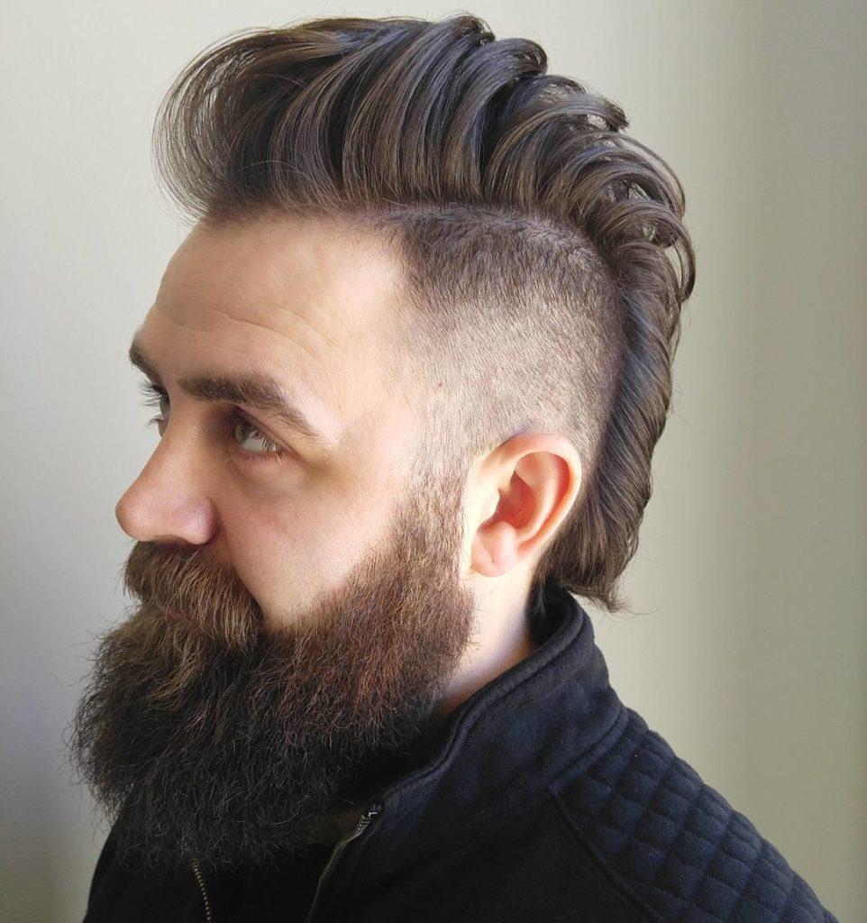 Hair Cutting Style Name - Mohawk