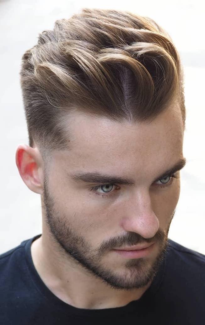Hair Cutting Style Name - Quiff