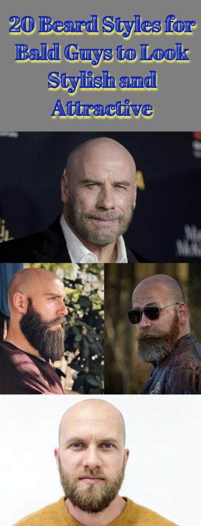 Stylish Beard Styles for Bald Guys