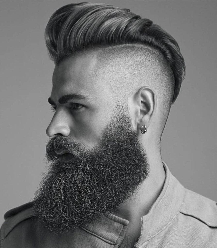 Hair Cutting Style Name - Undercut