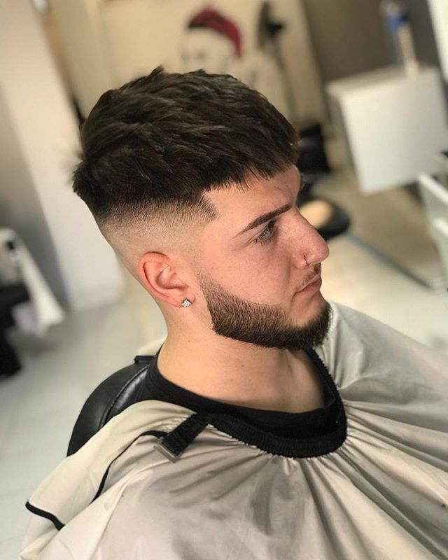 Hair Cutting Style Name - Uppercut