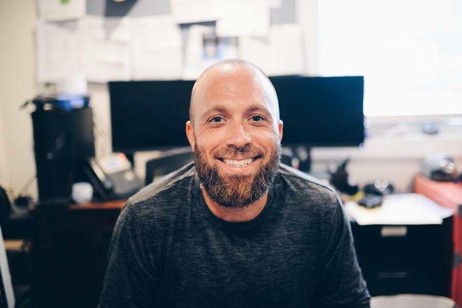 bald guy with short beard