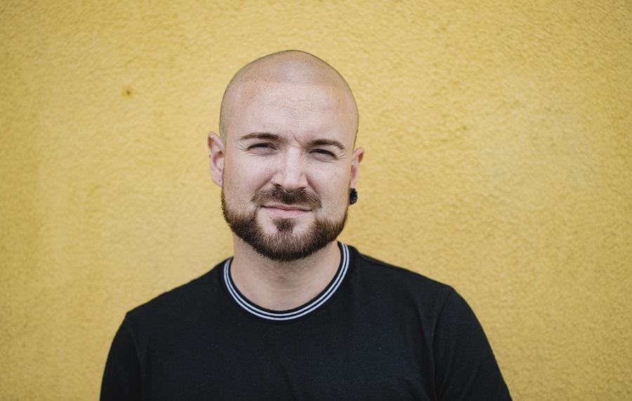 best beard styles for bald guys