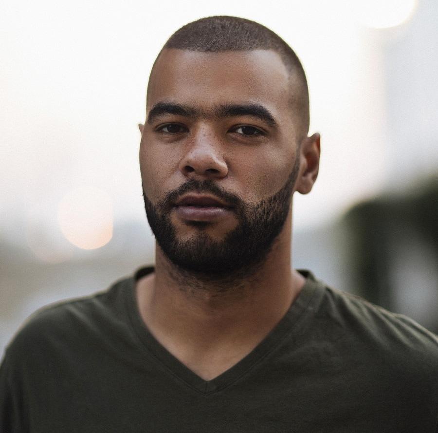 black guy with short beard