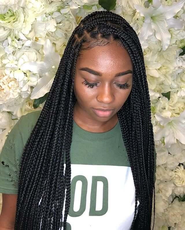 Top 20 Knotless Box Braids Hairstyles | Hairdo Hairstyle