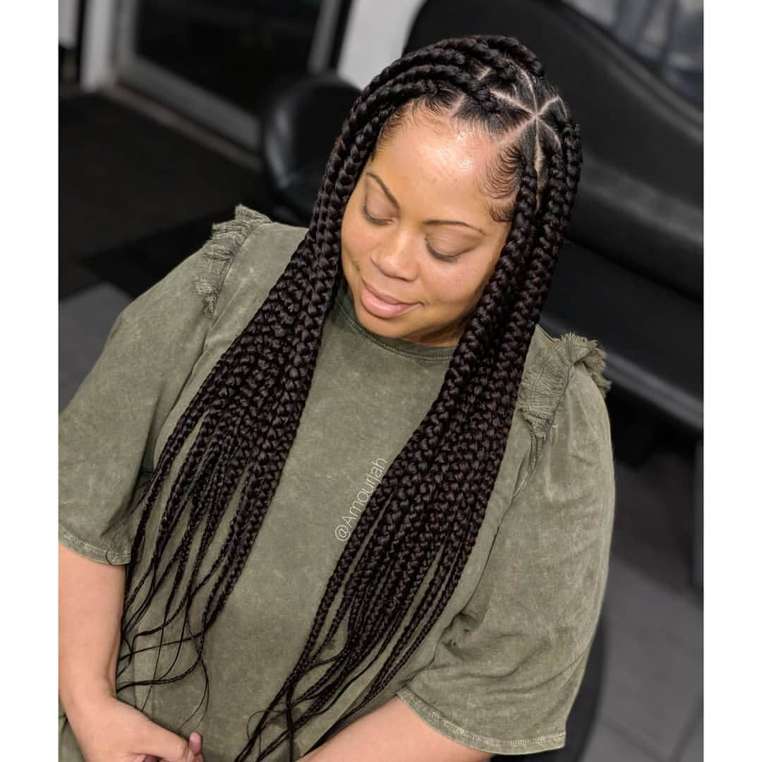 Top 20 Knotless Box Braids Hairstyles Hairdo Hairstyle